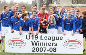 <b>U19 League Winners 07-08</b><br>Selection of 63 items