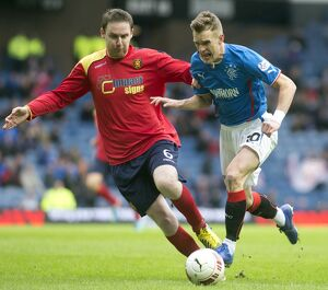 Soccer - William Hill Scottish Cup Quarter Final - Rangers v Albion Rovers - Ibrox Stadium