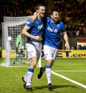 <b>Albion Rovers 0-2 Rangers</b><br>Selection of 29 items