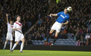 Soccer - William Hill Scottish Cup Round 3 - Rangers v Airdrieonians - Ibrox Stadium