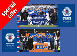 SPFL 1 and SFL3 Champions Canvas