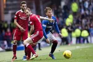 Rangers 1-2 Aberdeen (Selection of 18 Items)