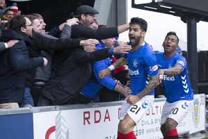 <b>St Mirren 0-2 Rangers</b><br>Selection of 53 items